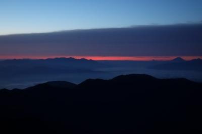 113 八ヶ岳・富士山